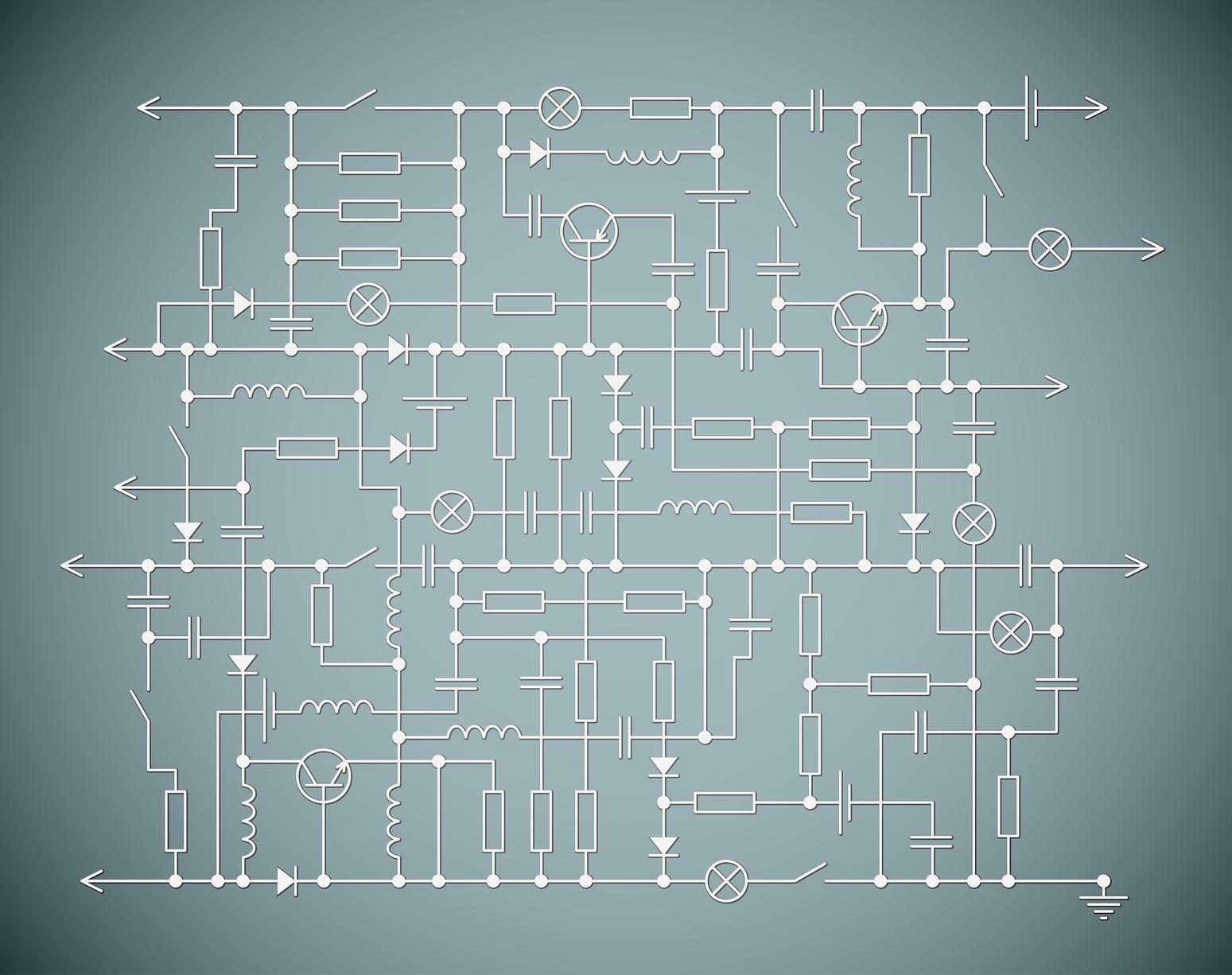 schéma électrique d'une maison