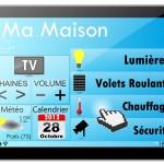 Tablette Tactile : Domotique dans une maison
