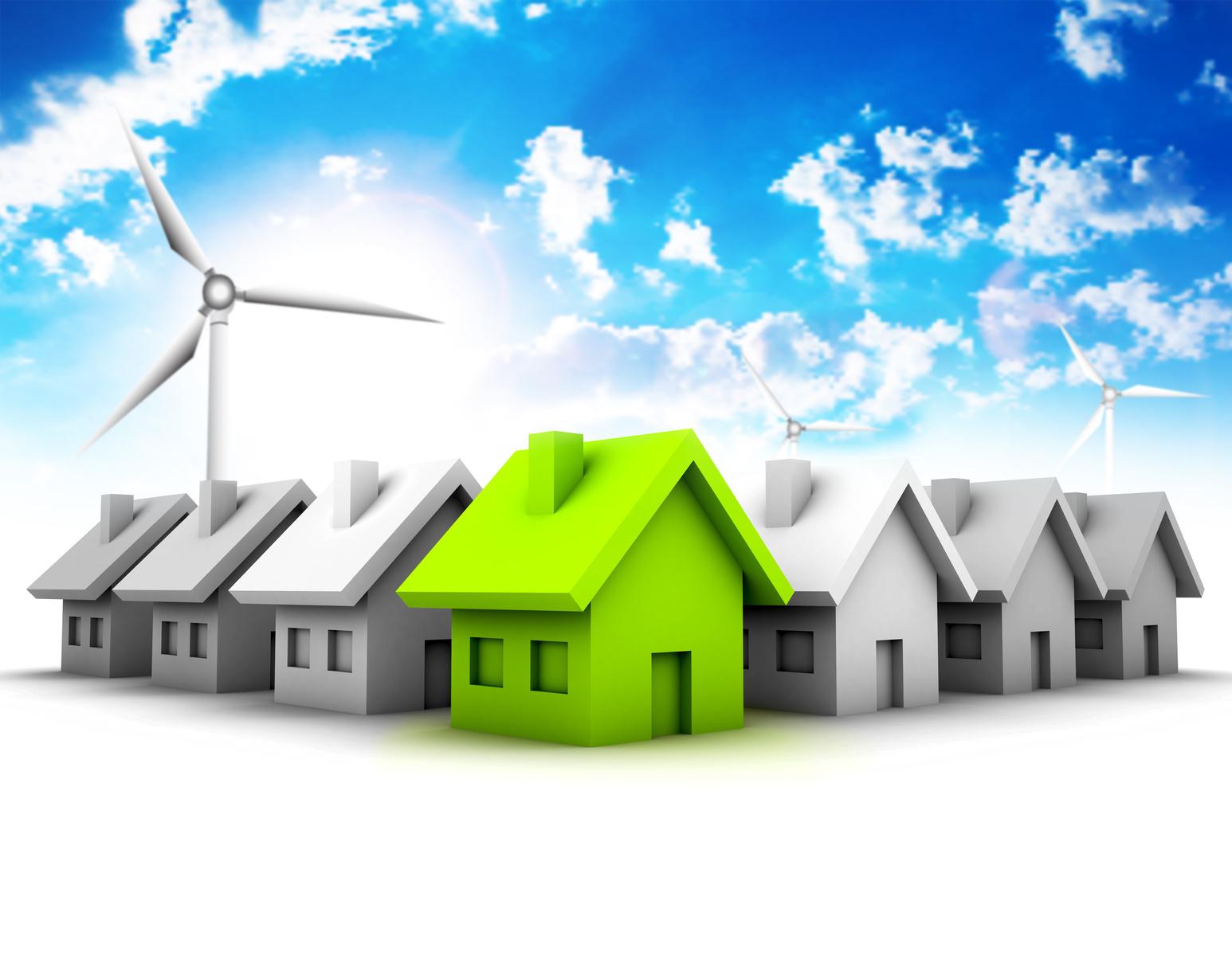 Installer éolienne toit maison