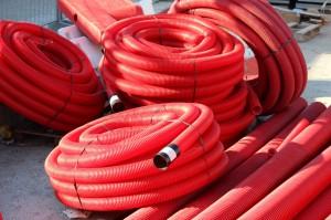 Gaines de câbles électriques