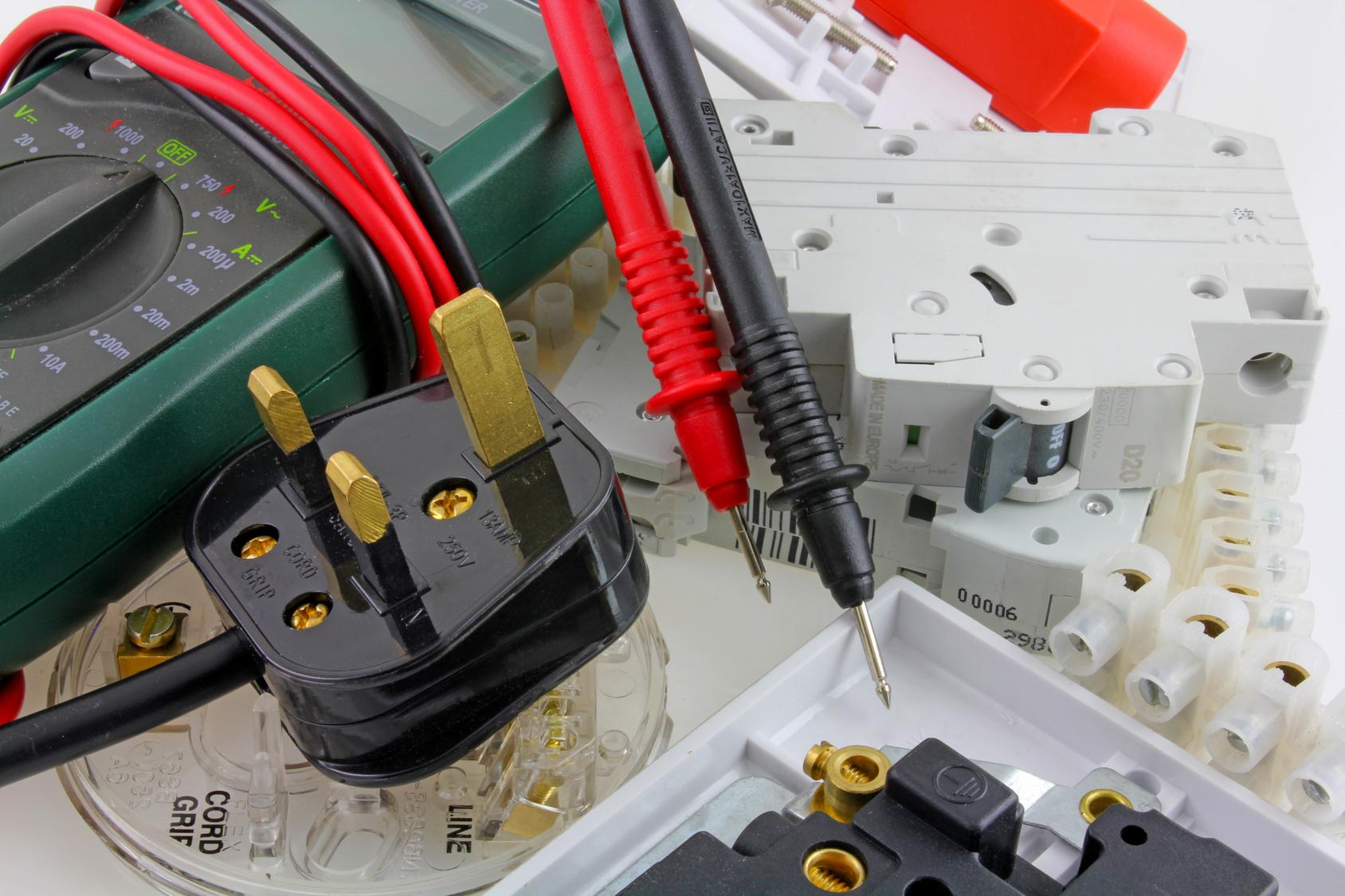 Branchement compteur électrique.