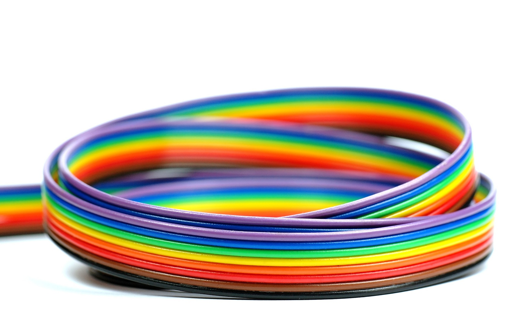 câbles de couleur