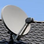 parabole sur toit