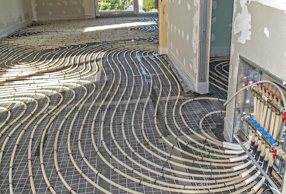 Plancher chauffant lectrique fonctionnement et prix for Plancher chauffant electrique renovation