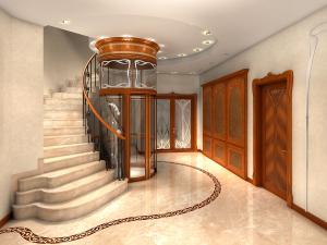 Photo d'un ascenseur