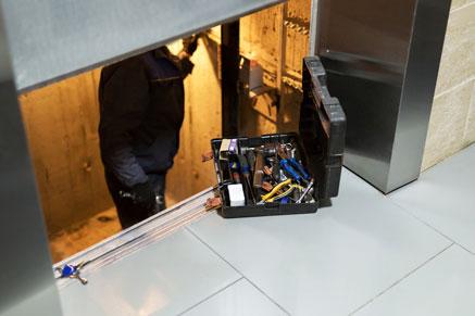 Photo d'un ascensoriste