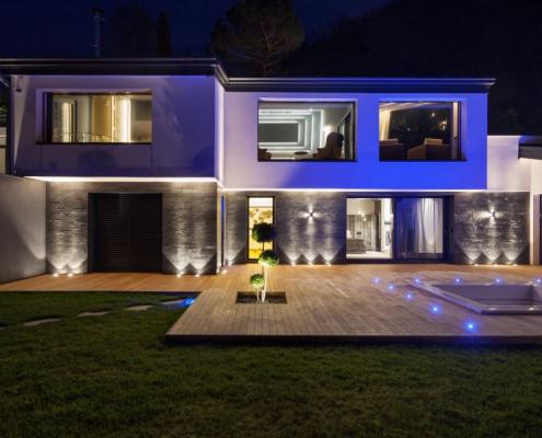 Prix d'un éclairage extérieur pour terrasse